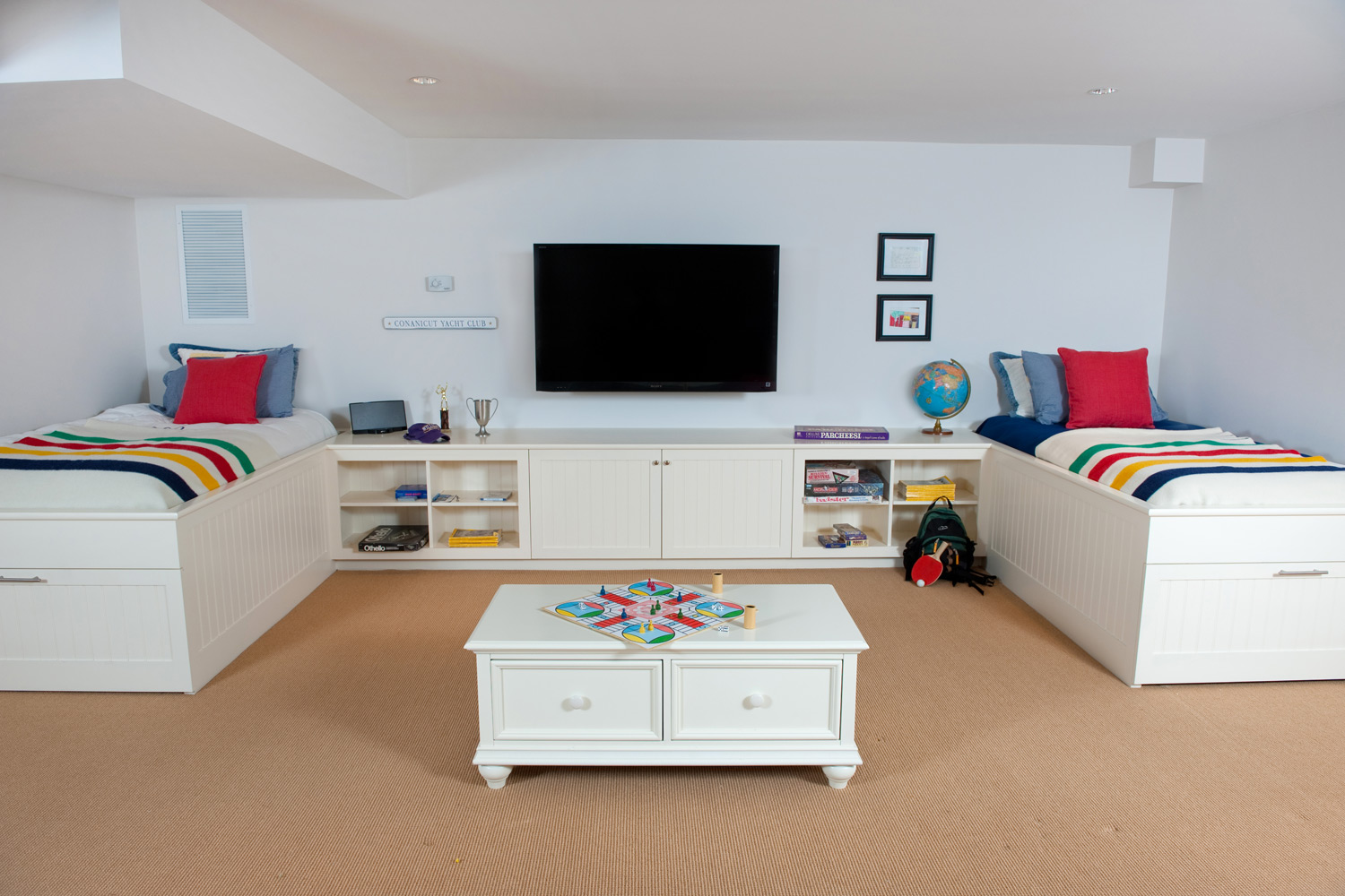 Coastal New England Playroom