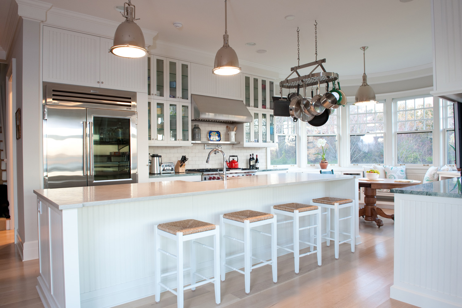 Coastal New England Kitchen