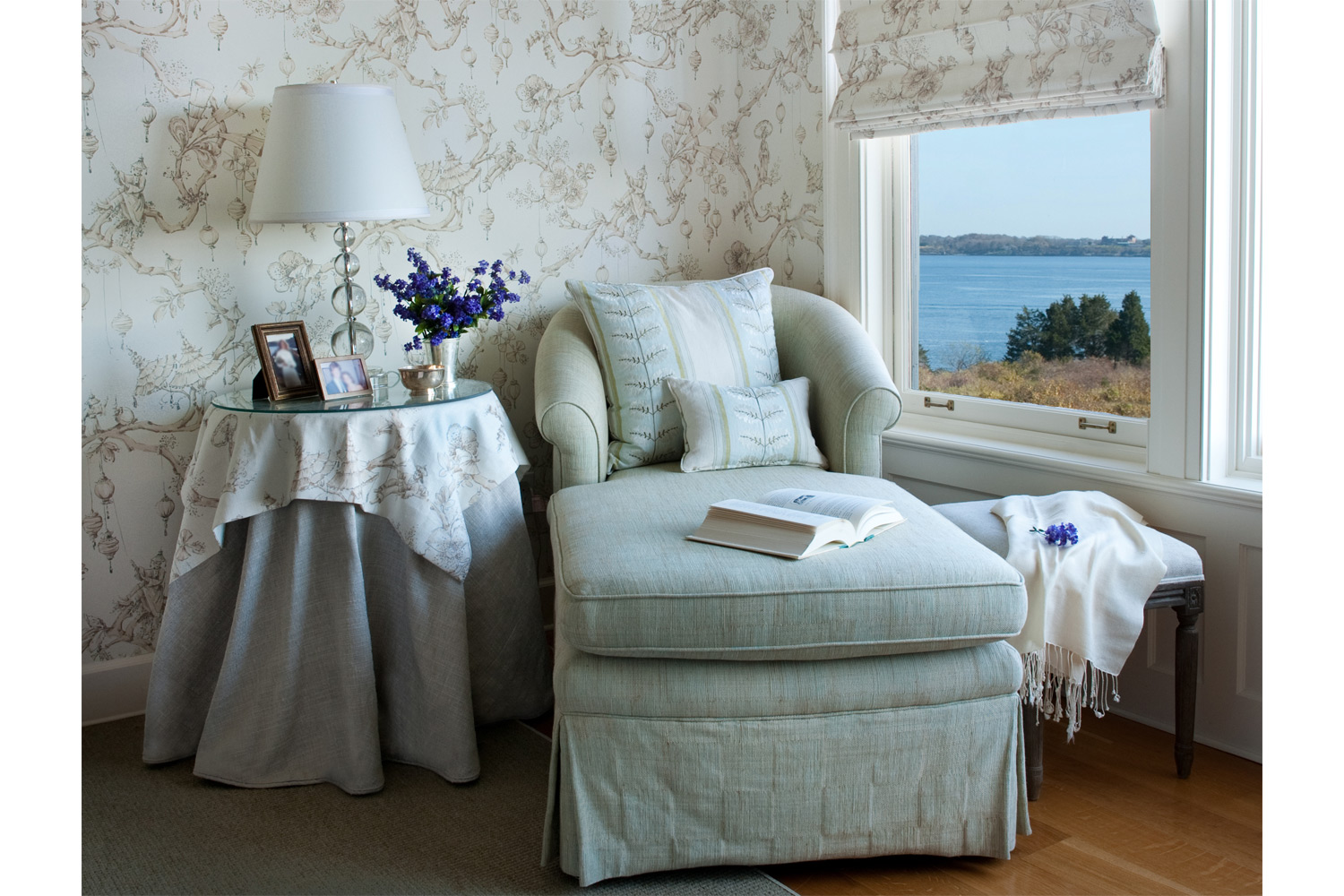 Coastal New England Master Bedroom