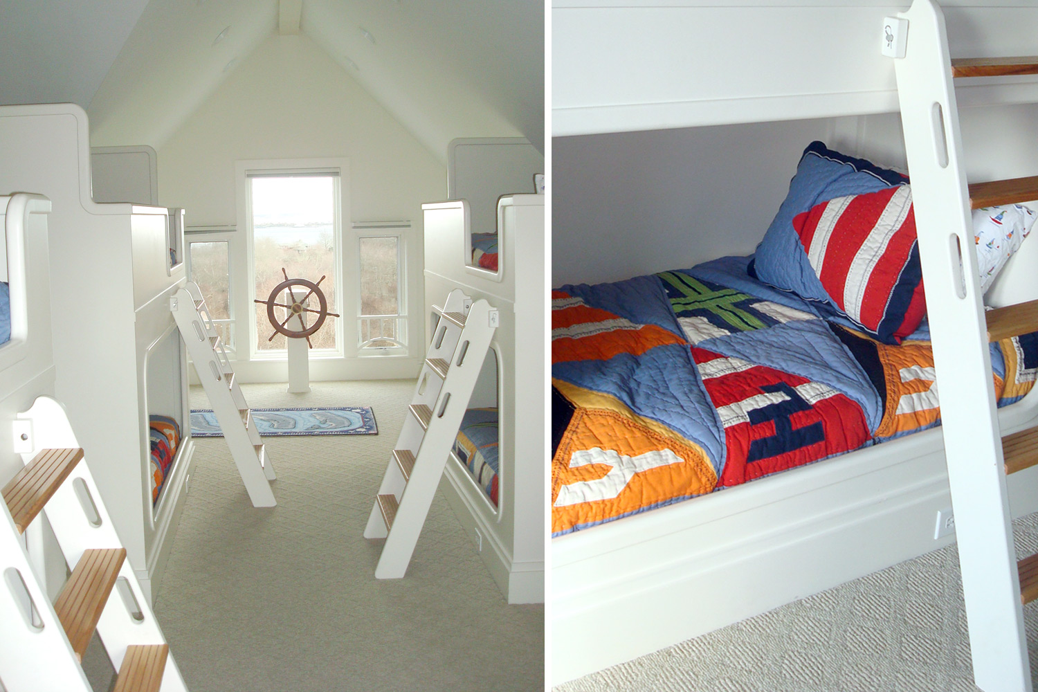 Coastal New England III Kids Bedroom