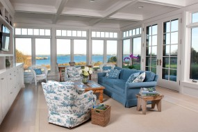 Coastal New England Sunroom